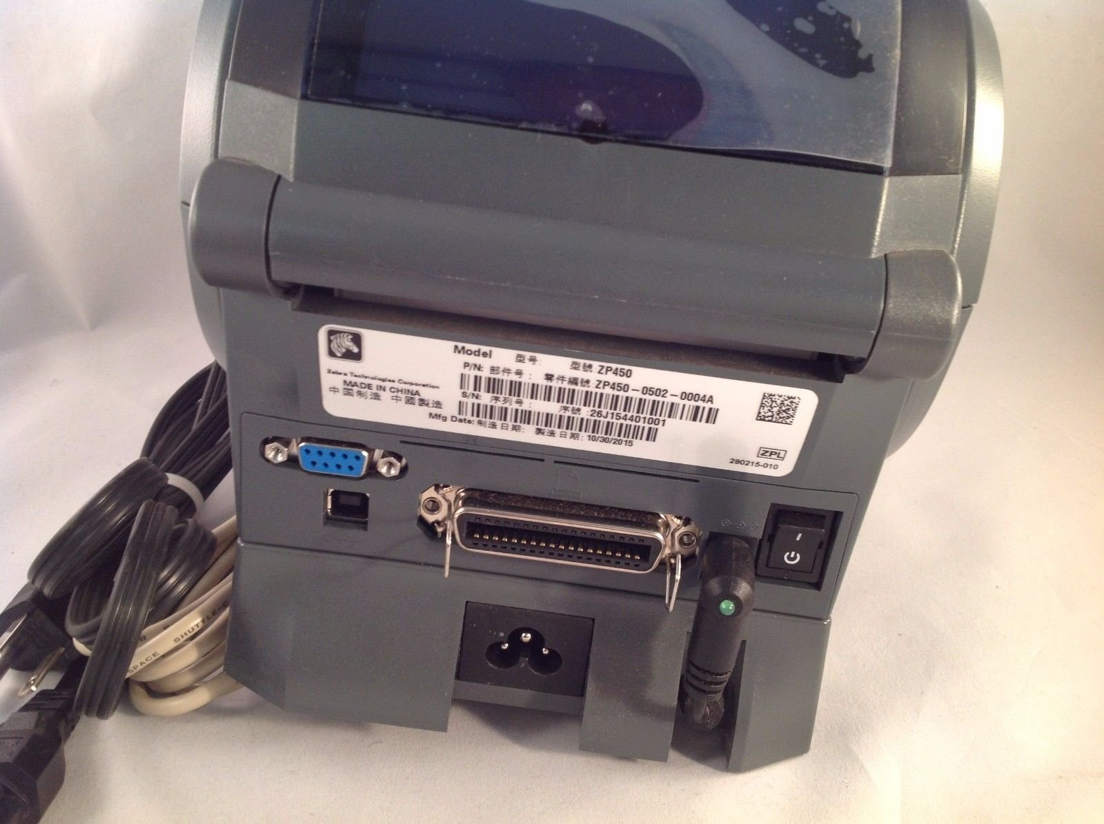 Zebra Technologies ZP-450 CTP Thermal Label Printer by Zebra Technologies (Image #2)