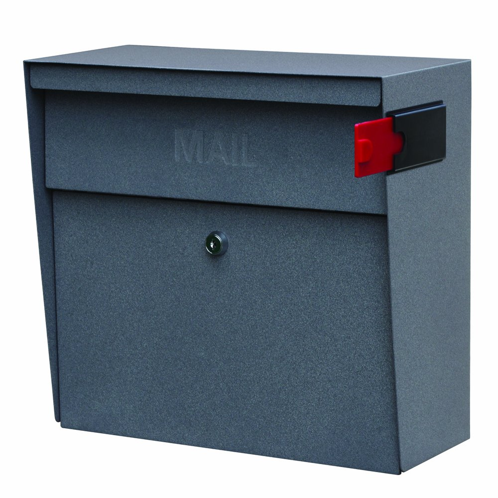 Mail Boss 7161 Metro Locking Wall Mount Mailbox