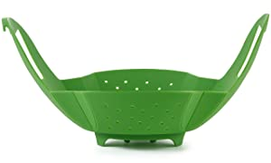 Silicone Vegetable/Food Steamer Basket – Insert for Pots, Pans, Crock Pots & More… By Sunsella