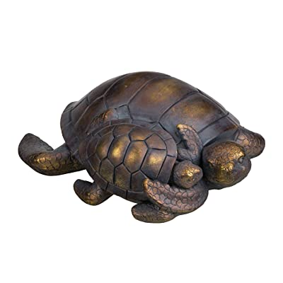 Regal Mama/Baby Sea Turtle Garden Statue : Industrial & Scientific