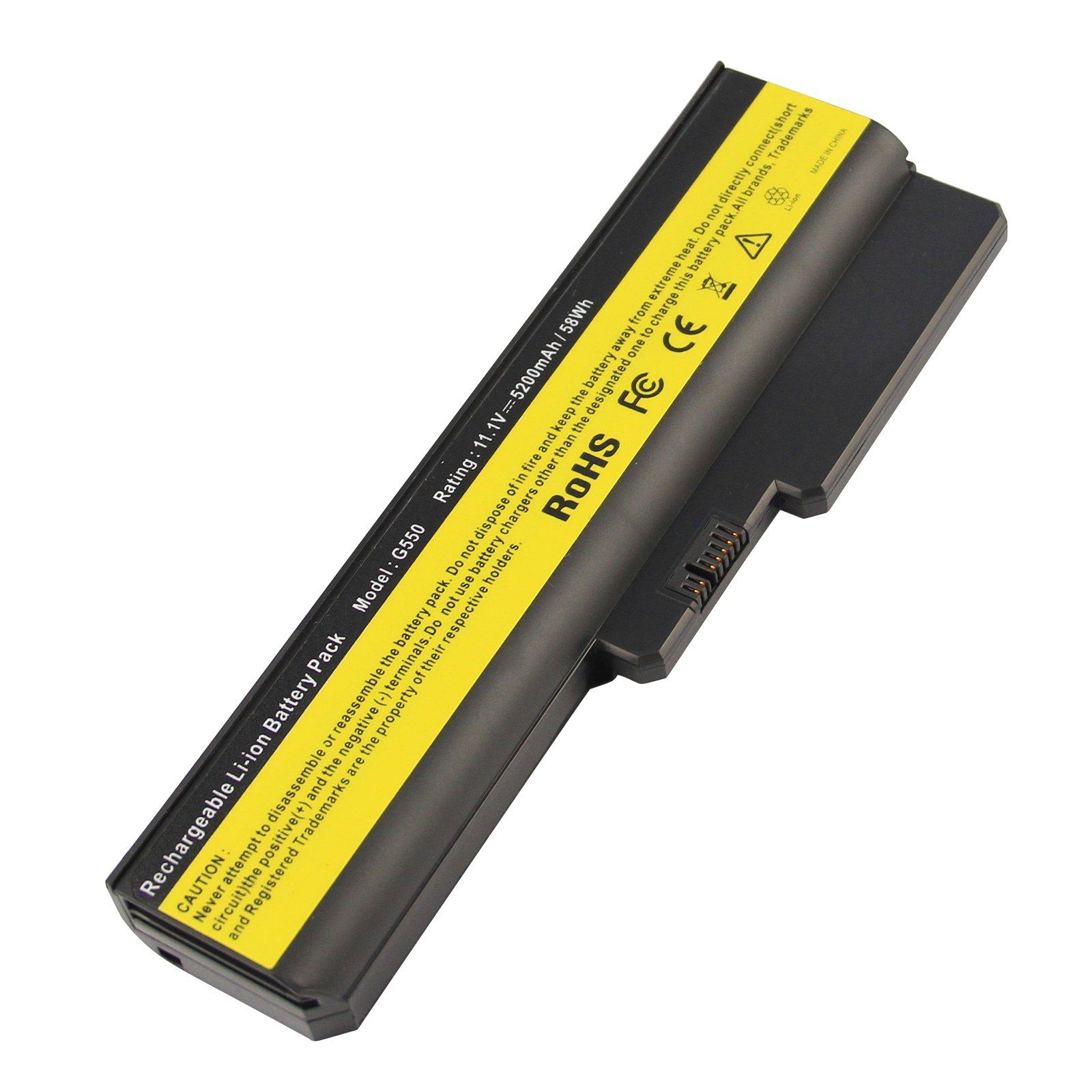 Bateria 6 Celdas 5200mah Para Lenovo 3000 B460 B550 G430 G450 G455 G530 G550 G555 N500 Ideapad B460 G430 V460 Z360