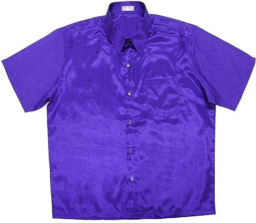Lofbaz - Camisa de manga corta para hombre: Amazon.es: Ropa y accesorios