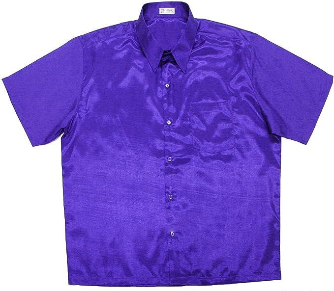 Thai Silk Lofbaz Camisas de hombre con estampado casual