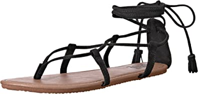 50a2ddededd BILLABONG Women s Around The Sun Sandal Black 8 M US  Amazon.co.uk ...