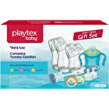 Playtex Baby Ventaire BPA-Free Baby Bottles Complete First Year Feeding Gift Set