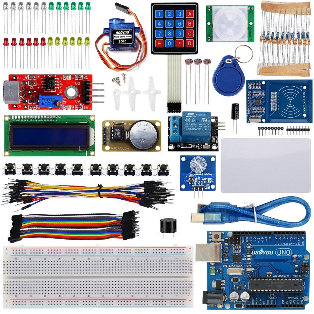 Osoyoo rfid security master starter kit for arduino