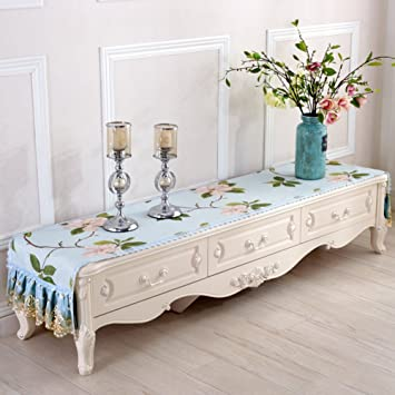 Amazon Com Tv Table Cloth Covering Cloth Dressing Table