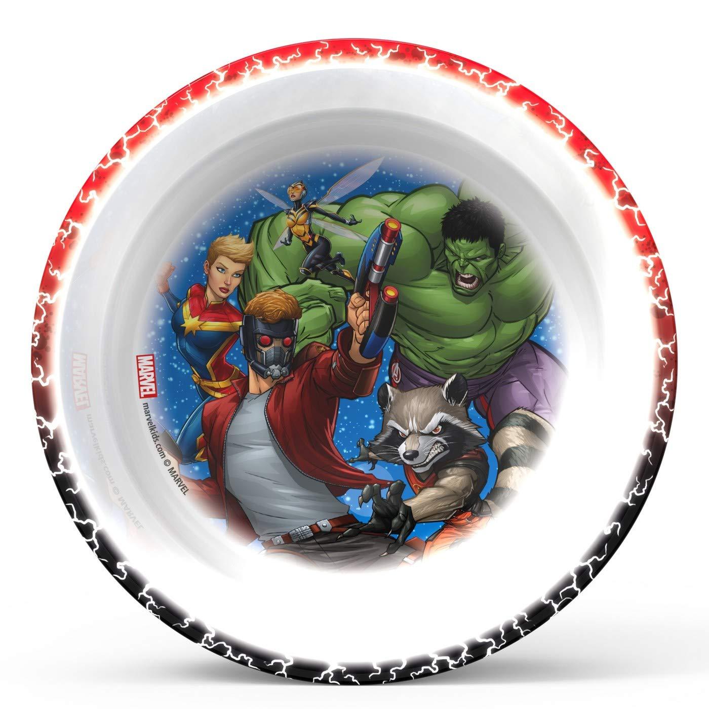 Marvel Infinity War Mealtime 3pcs Set BPA Free by Zak Designs Set