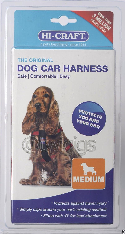 Arnés de Seguridad de Perro Para el Coche Hi-Craft Original Tamaño ...