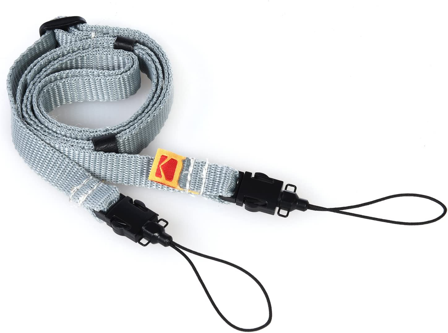 Kodak Printomatic Camera Neck Strap (Grey) – Adjustable, Convenient, Practical – The Easiest Way to Capture Every Kodak Moment