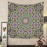 Grace Little Custom tapestry morocco seamless pattern traditional arabic islamic background mosque decoration element