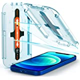 Spigen Tempered Glass Screen Protector [Glas.tR EZ Fit] Designed for iPhone 12 / iPhone 12 Pro [6.1 inch] [Case Friendly] - 2