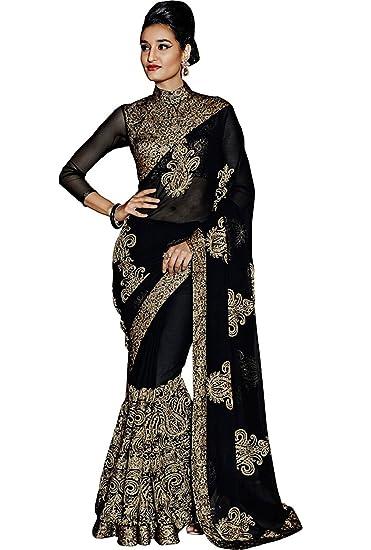 60854017b07 Saree For Women Party Wear Half Sarees Offer Designer Below 500 Rupees  Latest Design Under 300 Combo Art Silk ...