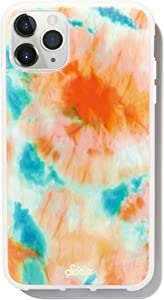 Sonix Orange Glow Phone Case for iPhone 11 Pro Max [10ft Drop Tested] Protective Glow in The Dark Tie-dye Case for Apple iPhone 11 Pro Max