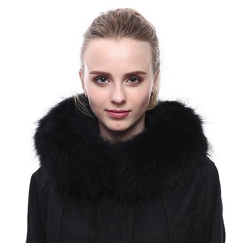 Collo di pelliccia - Donne Sciarpa di Procione Rcialle reale della pelliccia