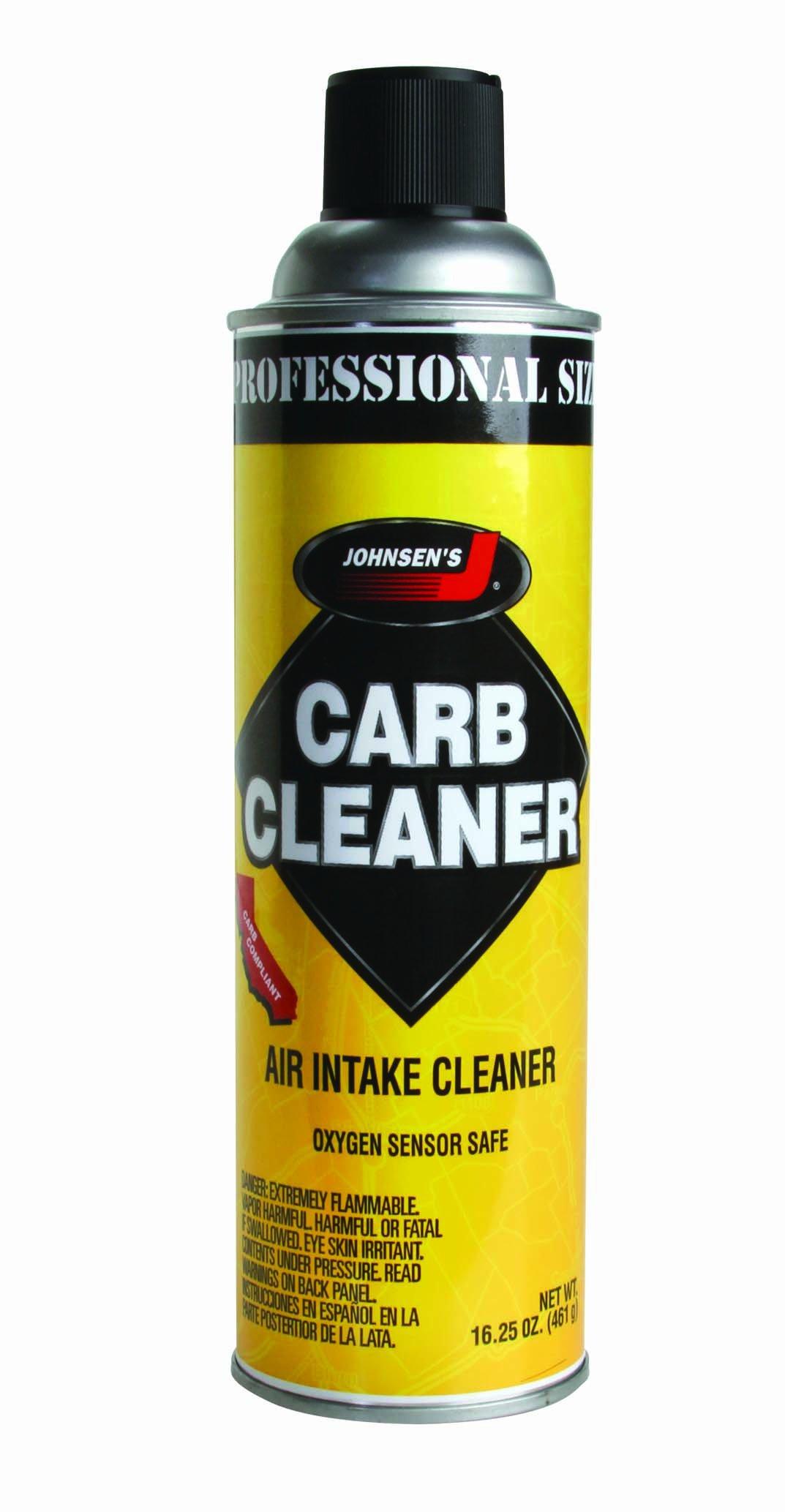 Johnsen's 4642-12PK VOC Compliant Carburetor Cleaner Spray - 16.25 oz., (Pack of 12) by Johnsen's (Image #1)