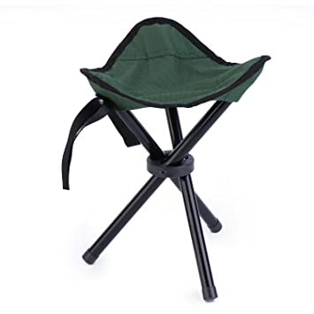 Astonishing Outad Tripod Stool Folding Portable Tri Leg Stool For Outdoor Camping Fishing Hiking Mountaineering Weight1 76Lb Capacity 120Kg Inzonedesignstudio Interior Chair Design Inzonedesignstudiocom