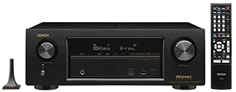 Denon AVR-X1300W 7 2 Channel Full 4K Ultra HD AV Receiver with Bluetooth