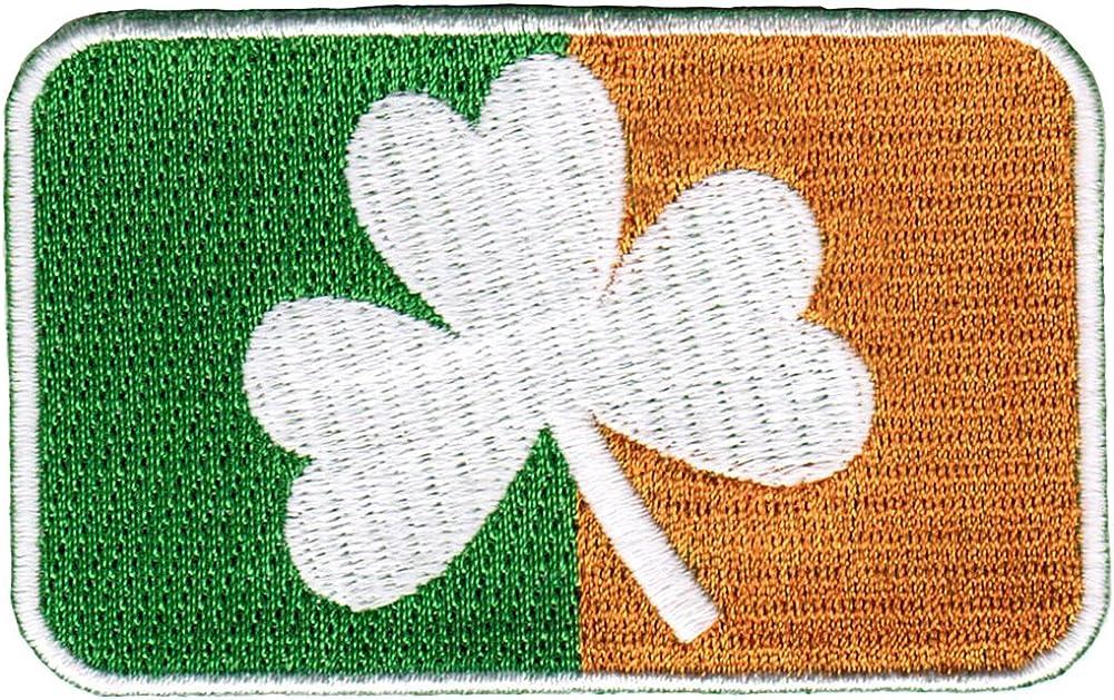 Ireland Flag Patch Embroidered Iron On Applique Irish