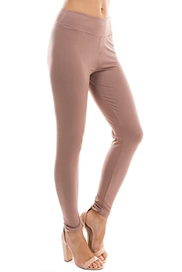 Leggings Mania Buttery Soft Leggings with High Yoga Waist – Many Colors Regular/Plus Size