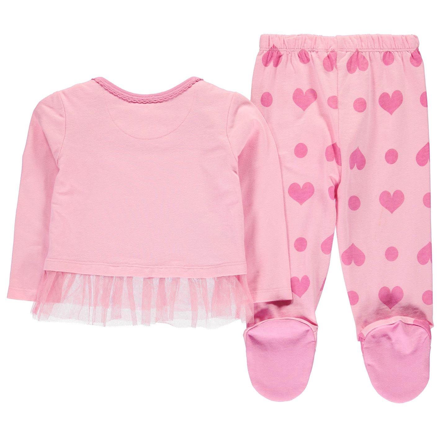 Character Enfants Pyjama Ensemble Pantalon Top Haut T-Shirt Pajama Bebe Col Rond