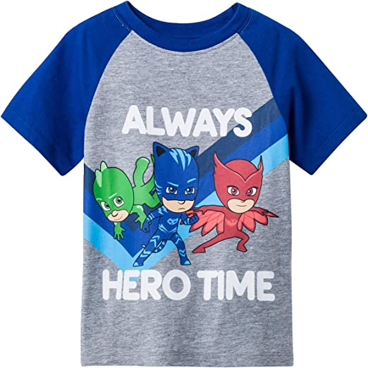 PJ Masks PJ Power Boys Licensed tee t shirt top long sleeve New with tags
