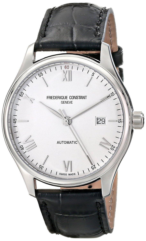 フレデリックコンスタント Frederique Constant Men's FC303SN5B6 Index Analog Display Swiss Automatic Black Watch [並行輸入品] B010NF26YE