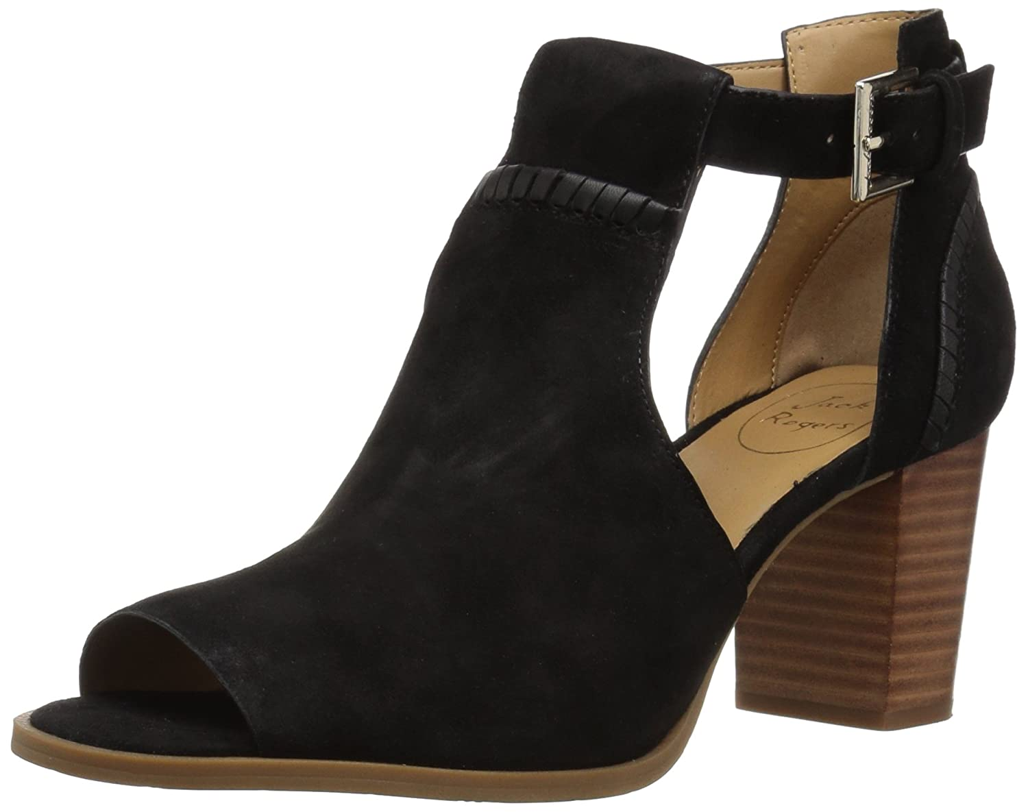 Jack Rogers Women's Cameron Suede Fashion Boot B077YBRVWN 8.5 M US|Black Suede