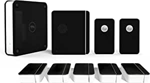 Scout Alarm Home Security System Wireless & DIY - 24/7 Professional Monitoring - No Long Term Contracts Compatible with Alexa, 9 Piece Kit, Midnight