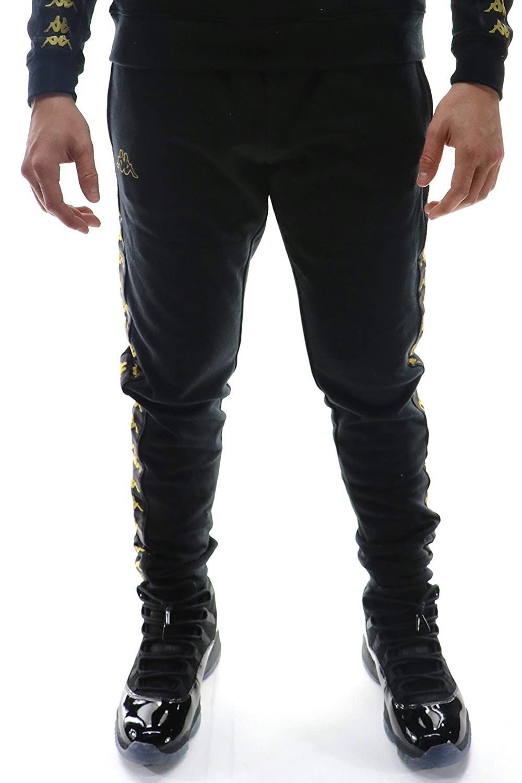 dd71aa69 Kappa 222 Banda Grif Slim Sweatpant 3XL BLACK at Amazon Men's ...