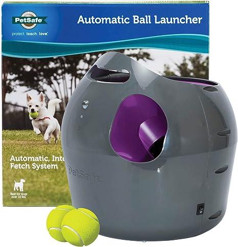 PetSafe automática Lanzador de Pelota, Pelota de Tenis máquina de ...