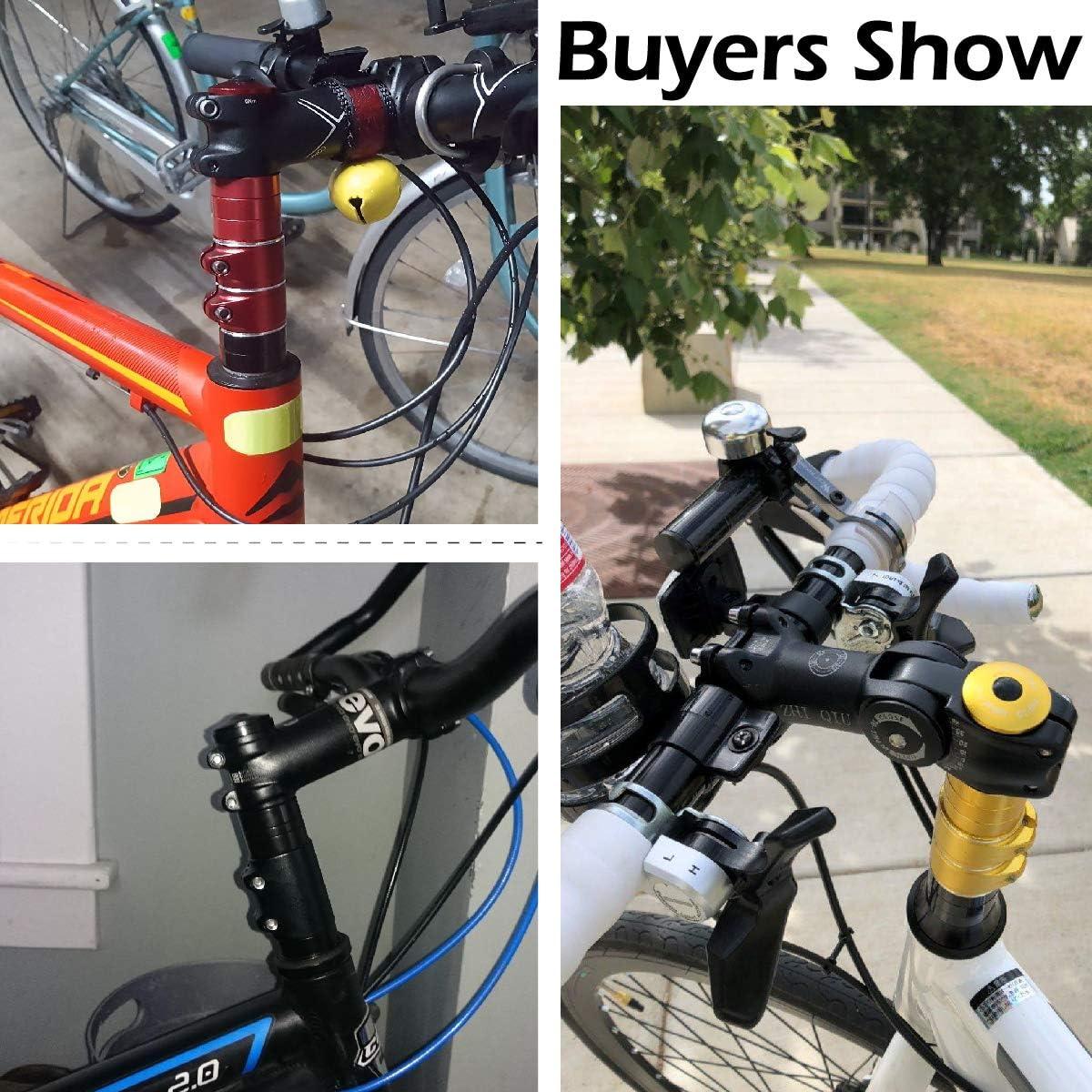 Bicicleta de Carretera Azarxis Adaptador para Manillar de Bicicleta de Aleaci/ón de Aluminio Flexible F/ácil Instalaci/ón Apto para Bicicleta de Monta/ña MTB BMX