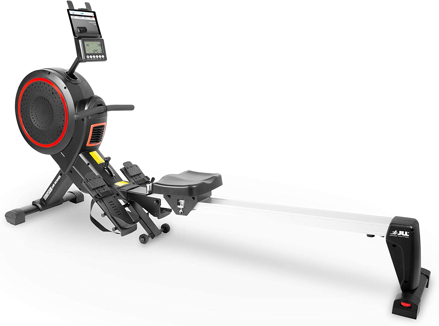 JLL Ventus 2 Air Resistance Home Rowing Machine - Full view Image