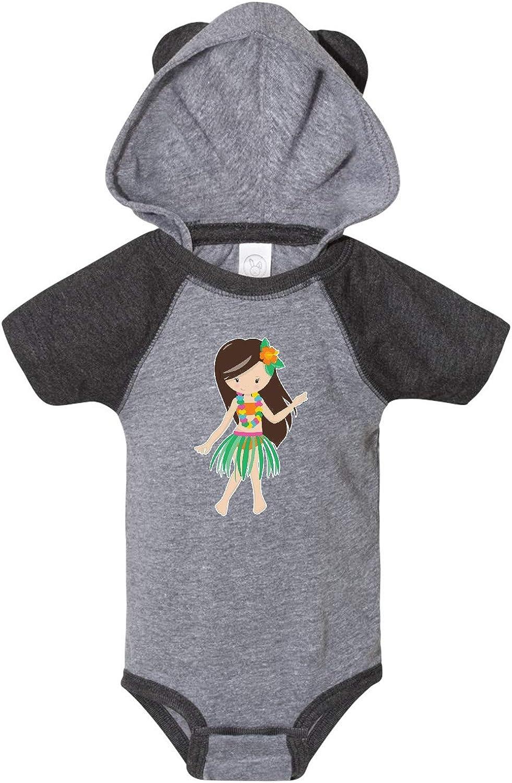 inktastic Hula Girl Infant Creeper