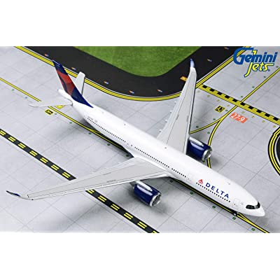 GeminiJets GJDAL1837 1:400 Delta Air Lines Airbus A330-900neo Airplane Model: Toys & Games