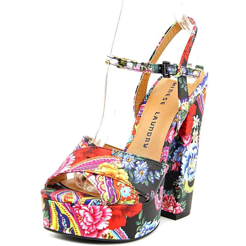 Chinese Laundry Women's 10 Aquarius Paisley Platform Dress Sandal B019TO7K1Y 10 Women's B(M) US|Black 22a388