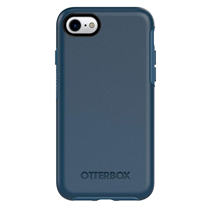 Otter Box Symmetry Series Case For I Phone 8 & I Phone 7   Bulk Packaging   Bespoke Way (Blazer Blue/Stormy Seas Blue) by Otter Box