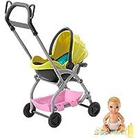Barbie Bebek Bakıcısı Sarı Saçlı Oyun Seti GFC18