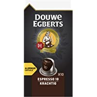 Douwe Egberts Koffiecups Espresso Krachtig, (100 Capsules, Geschikt voor Nespresso* Koffiemachines, Intensiteit 10/12…