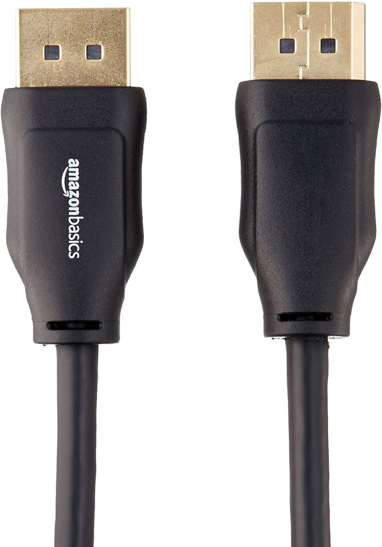 4,6 m /& C/âble HDMI 2.0 Haut d/ébit Compatible Ethernet // 3D // Retour Audio 4,6/m Basics C/âble DisplayPort vers DisplayPort 4K Ultra HD Nouvelles Normes