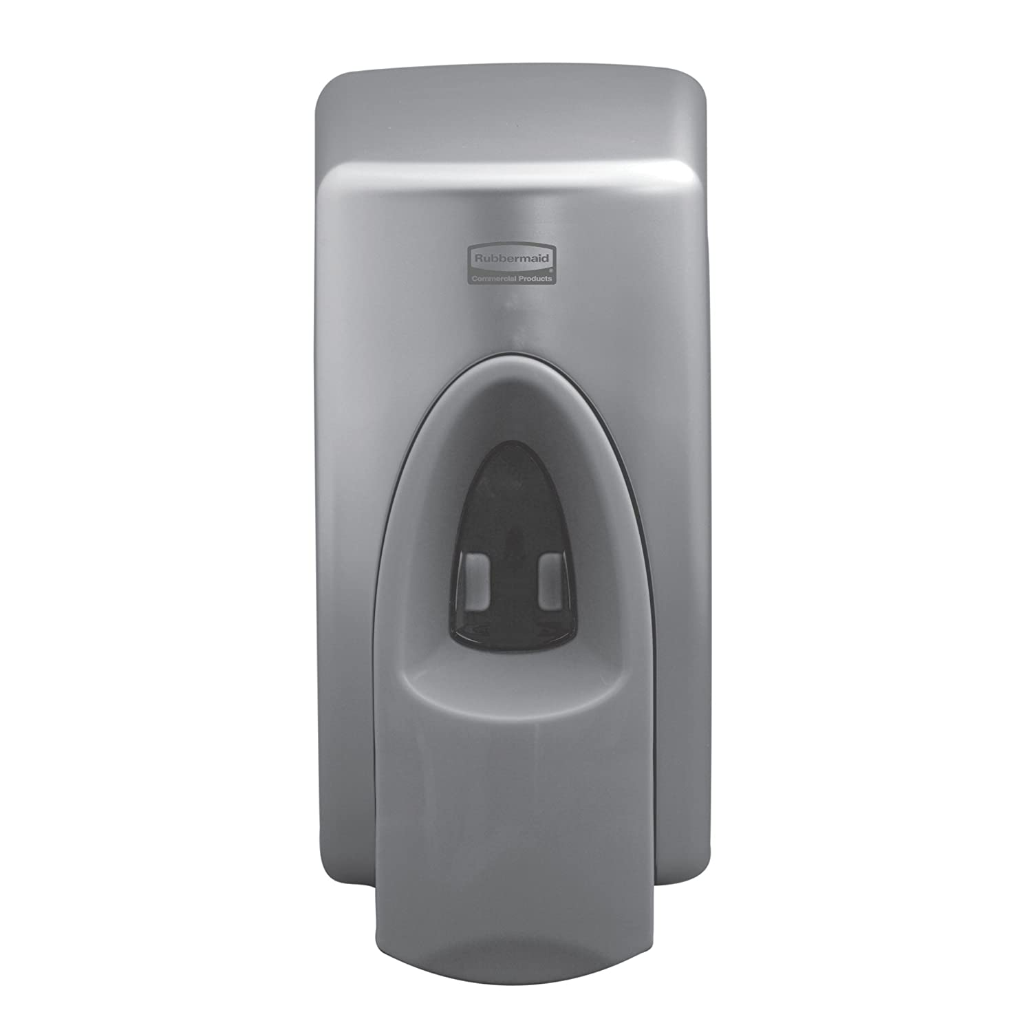 Rubbermaid Commercial FG750175 Wall Mount Manual Spray Skin Care Dispenser, Metallic, 400 mL Capacity, 4.3-inch Length x 3.7-inch Width x 8.25-inch Height