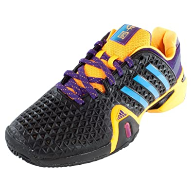 adidas barricade black and gold