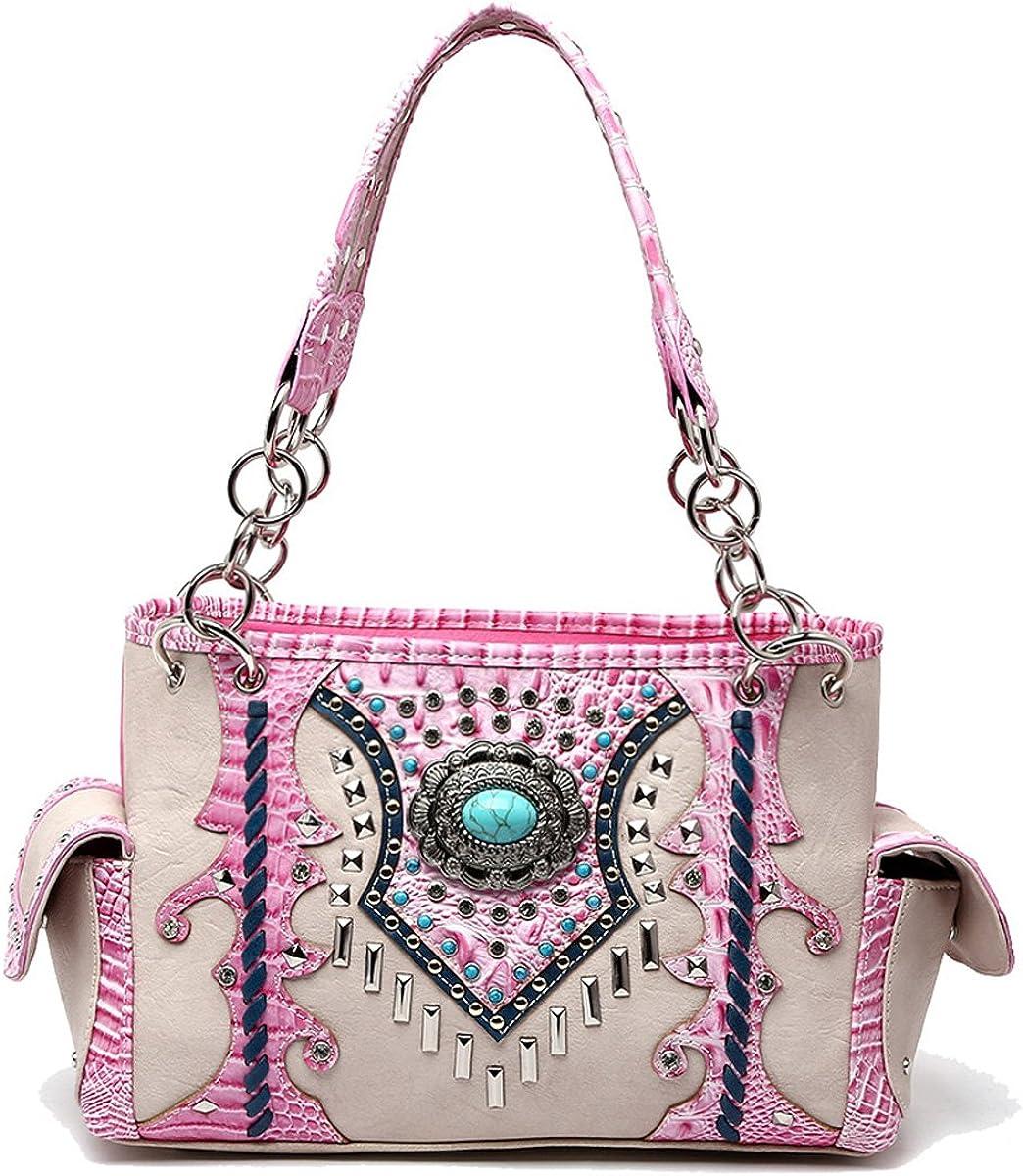 Western Handbag Turquoise...