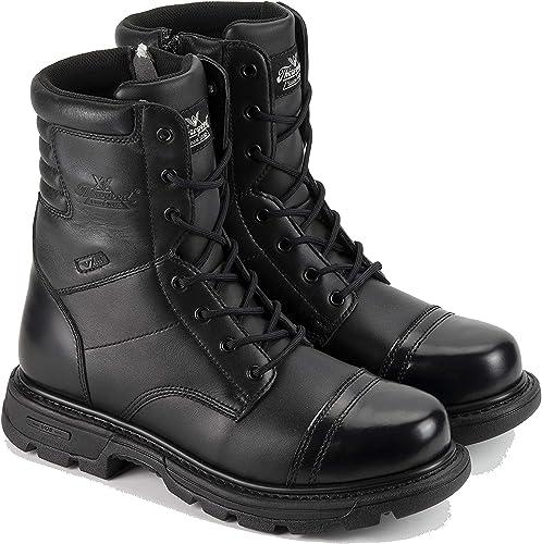 thorogood men's side zip jump boots