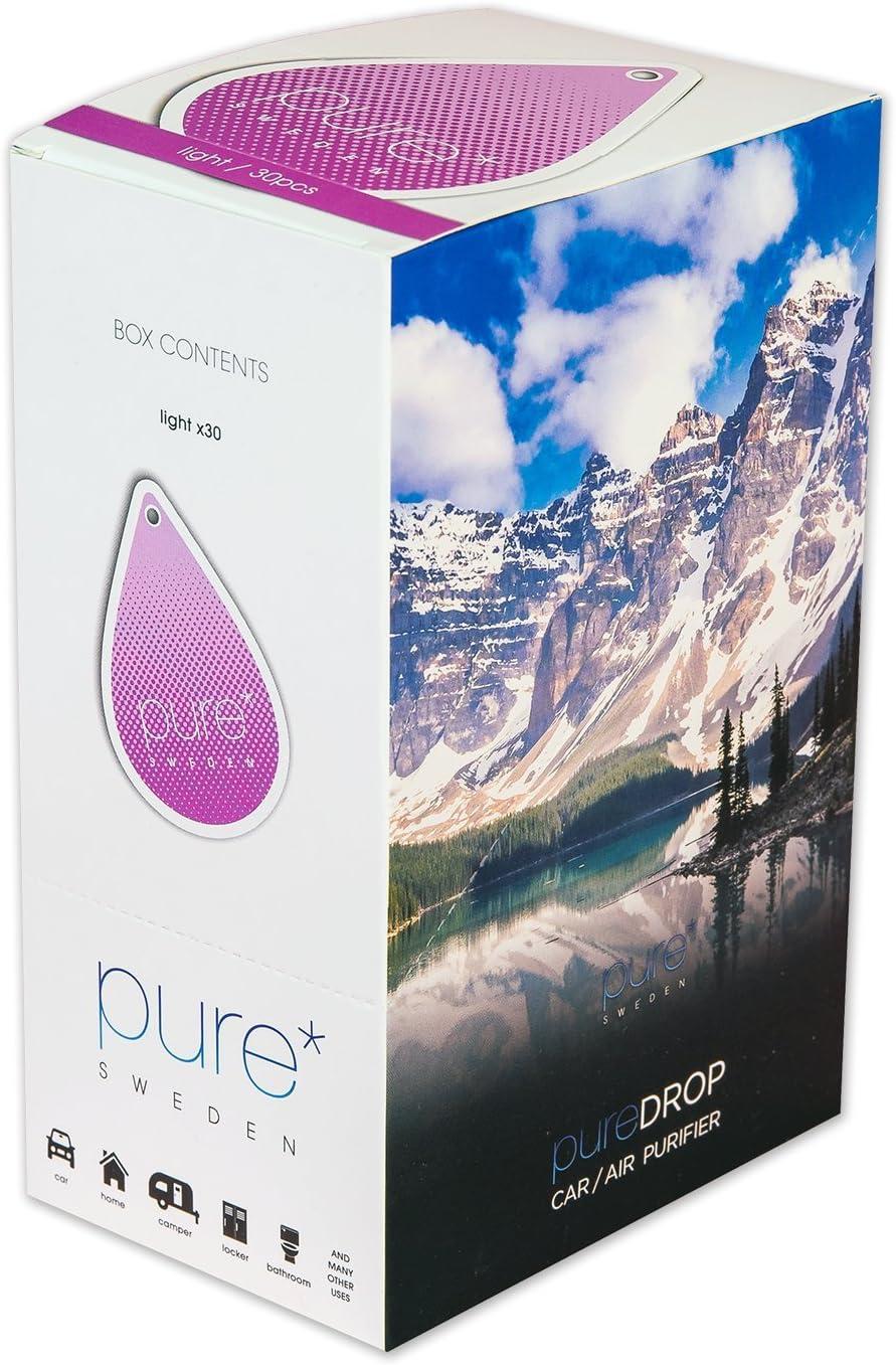 Pure Drop, 30 piezas de caja de luz/mantel independiente ...