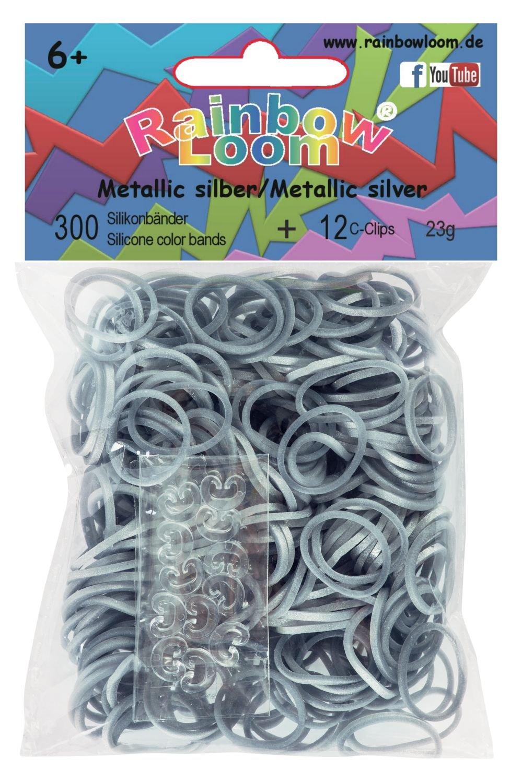 600 B/änder mit 24 C Clips Rainbow Loom 20815 karamell Original Gummib/änder