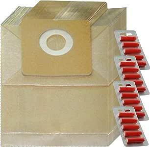 Spares2go Bolsas de Polvo para aspiradora Amazon Basics 1.5 L ...