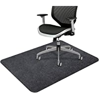 """Office Chair Mat, Upgraded Version - Opaque Hard Floor Chair Mat, 0.16"""" Thick Multi-Purpose Low Pile Desk Mat for…"""