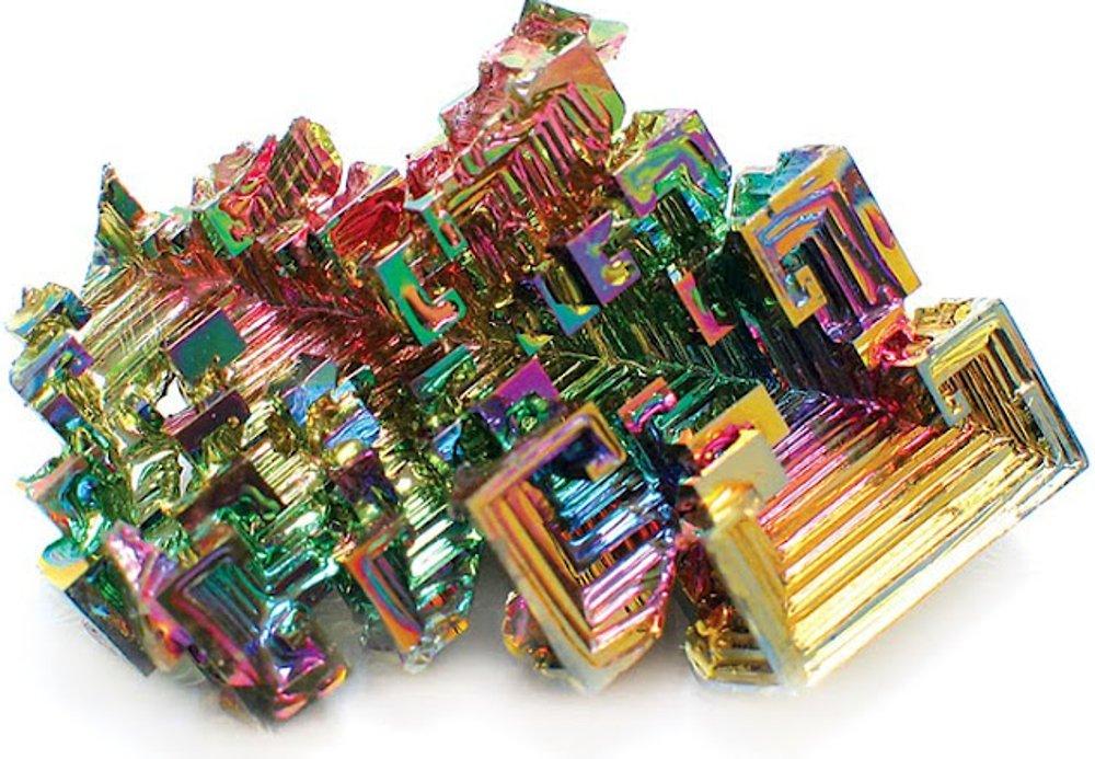 Bismuth Crystal Mineral Specimen (XL) GeoFossils