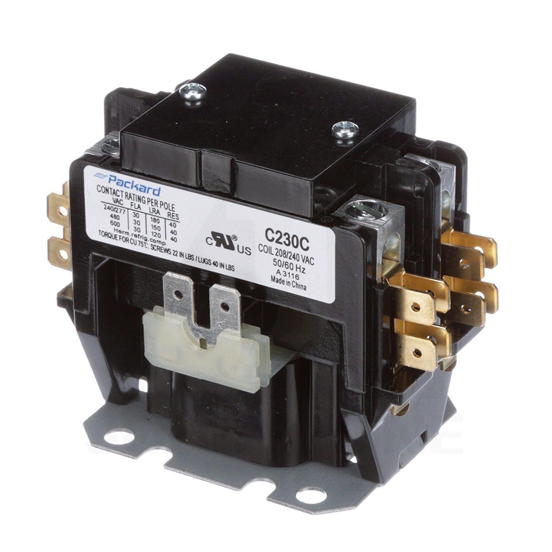 Packard C230C 2 Pole 30 Amp Contactor 208/240 Volt Coil Contactor: Motor  Contactors: Amazon.com: Industrial & Scientific
